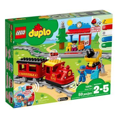 Treno A Vapore 10874 di Lego