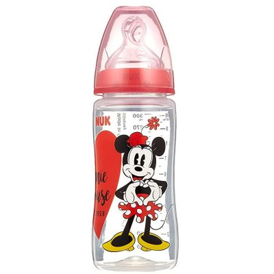 Nuk Primo Biberon Disney in Silicone 0-6 mesi 300ml di Nuk