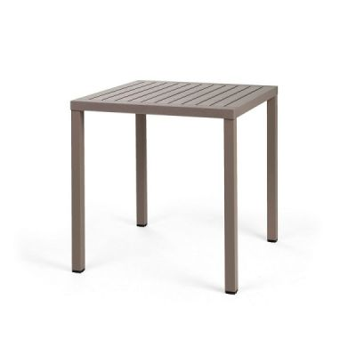 Tavolo Cube 70 Tortora di Nardi