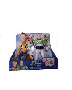 Toy Story 4 BUZZ E WOODY CM40 di Giocheria
