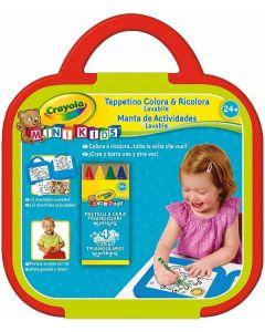 Mini Kids Tappetino Colora&Ricolora per Disegnare di Crayola