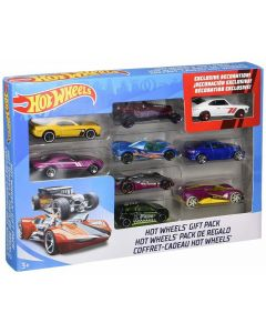 Hot Wheels Veicoli Pack 9 pz 1:64 Assortito di Mattel