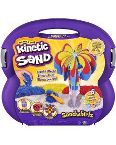 Kinetic Sand Sabbia Modellabile Con Attrezzi 3 Colori in 1 di Spin Master