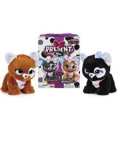 Peluche Present Pets Cucciolo Rainbow Glitter di Spin Master