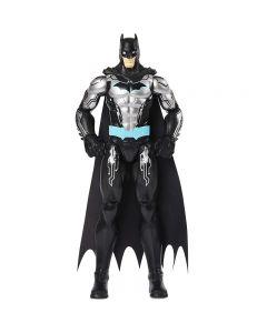 Batman Action Figure Personaggio Bat-Tech con Armatura Nero da 30 Cm di Spin Master