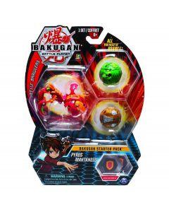 Bakugan Starter Pack, 3 Sfere, Modelli Assortiti di Spin Master