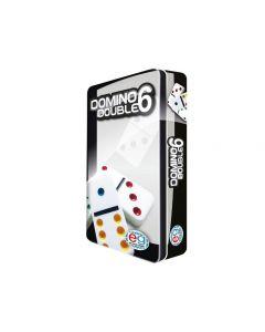 Domino Travel con Scatola in Latta di Editrice Giochi