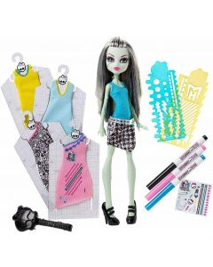 Monster High Monster High Boo-Franckie Stain con Stencil di Hasbro