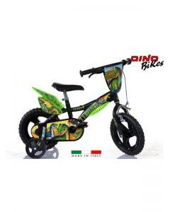 """Bicicletta Dinosauri 14"""" bambino di Dino Bikes"""