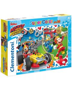 Puzzle Disney Mickey and the Roadster Racers 104 pezzi di Clementoni