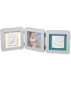 Baby Art My Baby Touch Portafoto 3 Cornici Pastello con Kit Impronta Mani e Piedi di Dorel