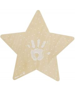 Baby Art My Baby Star lampada a led Kit Impronta Neonato color Legno di Dorel