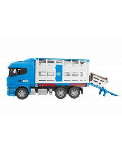 Camion Scania Trasporto Animali di Bruder