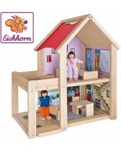 Casa delle Bambole in legno di Eichhorn