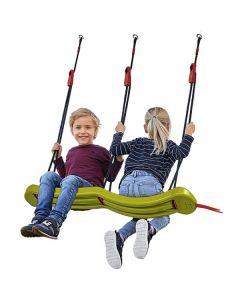 Seggiolino Altalena 2 Posti Big Snake Swing di Smoby
