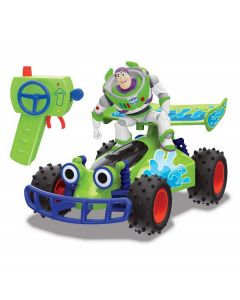 Disney Pixar Toy Story 4 - RC Buggy 1:24 con Buzz di Simba