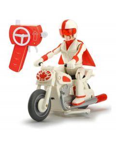 Toy Story 4 Motocicletta di Duke Caboom, Scala 1:24, cm. 22, 2 con Personaggio di Dickie Toys