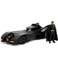 Personaggio Batman & Batmobile 1989 In Scala 1:24 di Simba