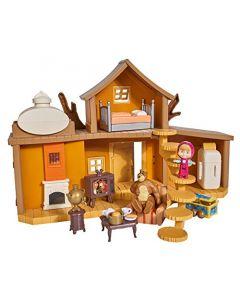 Masha e L' Orso-Playset la Grande di Orso con Personaggi di Simba