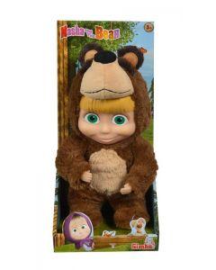 Bambola Masha con Costume Orso,cm 25 di Simba