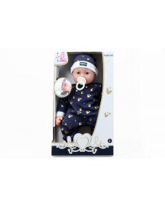 Inglesina Bebè 46cm se togli Il Ciuccio Piange con accessori di Simba