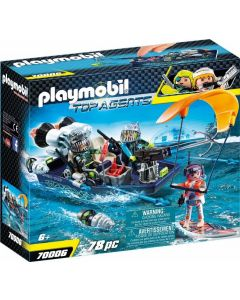 Barca d'assalto SHARK TEAM 70006 di Playmobil
