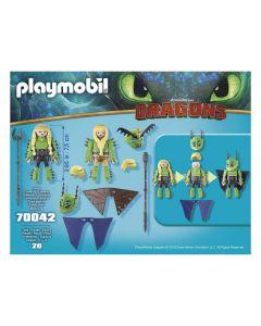TESTABRUTA & TESTADITUFO tuta di Volo 70042 di Playmobil
