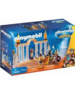 PLAYMOBIL:THE MOVIE 70076 - Imperatore Maximus Nel Colosseo