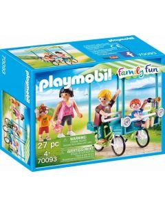 Playmobil 70093 - Famiglia in Bicicletta