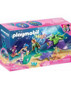 Playmobil 70099 - Cercatori di Perle con Manta