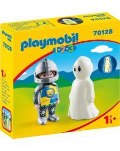Playmobil 70128 - Cavaliere Con Fantasma 1.2.3