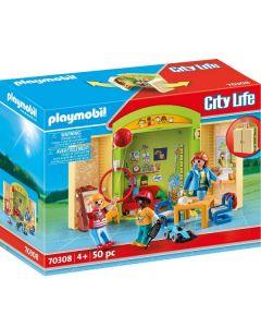 Play Box Asilo City Life 70308 di Playmobil