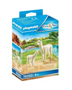 Alpaca Con Cucciolp Family Fun 70350 di Playmobile