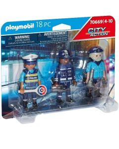 Squadra Di Poliziotti 70669 di Playmobil