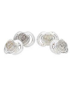 Ciuccio Little Gems Decorato 6-36m 2 Pezzi di Nuby