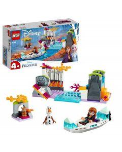 LEGO Frozen Spedizione sulla Canoa di Anna 41165