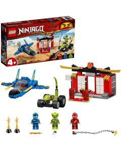Ninjago Battaglia sullo Storm Fighter 71703 di Lego