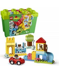 Duplo Contenitore Mattoncini Grande 10914 con Due Personaggi di Lego