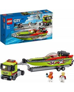 City Great Vehicles- Trasportatore di Motoscafi 60254 di Lego