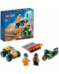 City Turbo Wheels Team Acrobatico 60255 di Lego