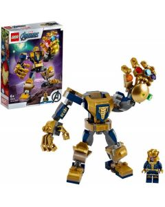 Super Heroes Marvel Avengers Mech di Thanos 76141 di Lego
