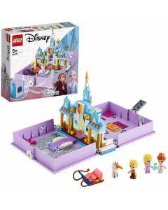 Disney Princess- Frozen Il Libro delle Fiabe di Anna ed Elsa 43175 di Lego