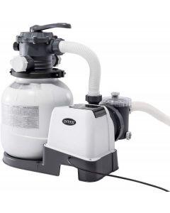 Pompa a Sabbia 26646 - Flusso Acqua: 7.900 l/h, Flusso Sistema: 6.000 l/h di Intex