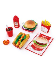Fast Food Set di Hape