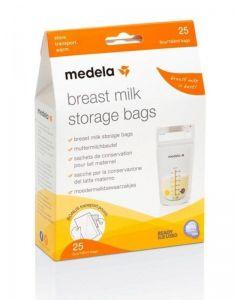 Sacche per la Conservazione del Latte Materno 25 pz di Medela