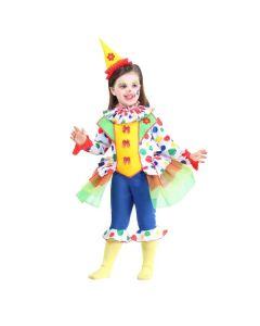 Set Pagliaccetta Neonato Carnevale-Halloween Taglia 13/18 mesi di Roccobimbo