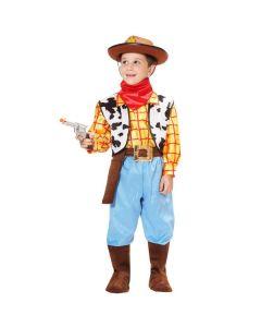 Set Cowboy Neonato Carnevale-Halloween Taglia 25/36 mesi di Roccobimbo