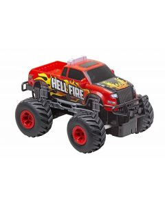Pick Up Big Wheels Rosso-Scala 1/20 di Reel Toys