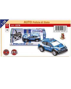 Riproduzione Auto della Polizia 1:26 di Re-El Toys