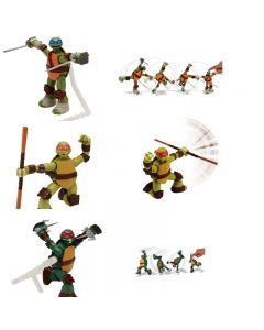 TMNT Personaggio Assortito Ninja Action di Giochi Preziosi